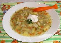 Zeleninová polévka s flíčky