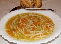 Zeleninová polievka s krupicou 1