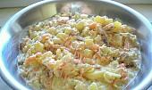 Bramborovo - zeleninový salát