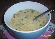 Čočková polévka s kysaným zelím