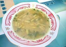 Fazolková polévka s jáhly