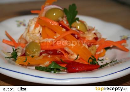 Jarní křupavý salát