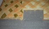 Křehký mřížkový moučník s rebarborou a tvarohem