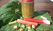 Rebarborový džem s ananasem