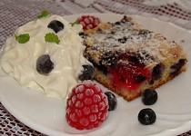 Rychlý borůvkový koláč 2