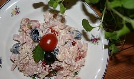 Rýžový salát se šunkou