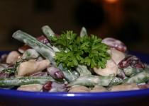 Salát tří fazolí