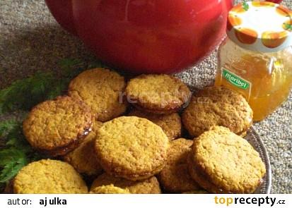 Špaldové mrkvové sušenky