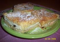Suchý koláč s tvarohem