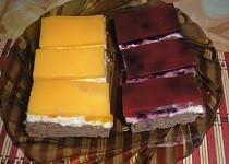 Tvarohový koláč s ovocem a želatinou