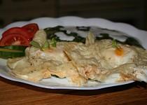 Zapečená sýrová vejce