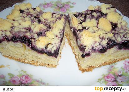 Borůvkový koláč I.