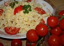 Italské těstoviny s rajčaty