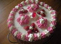 Jahodový dort se slaďoučkým krémem
