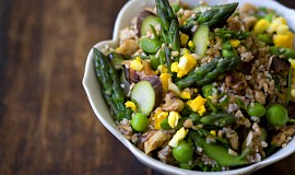 Jarní salát z bulguru