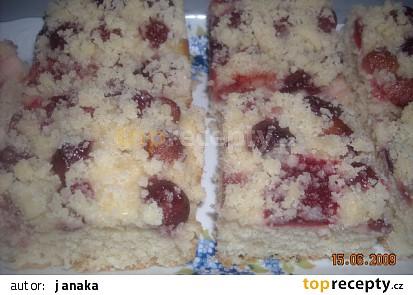 Litý kynutý koláč - hrníčkový, rychlý