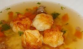 Nočky z páleného těsta - do polévky
