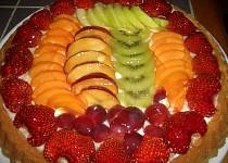 Ovocný dort pro maminku k 60