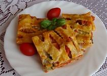 Pizza z listového těsta I.