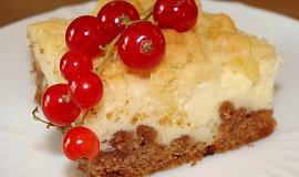 Strouhaný koláč -tvarohový či makový