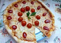 """Sýrový koláč """"ala pizza"""" od kamarádky"""