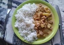 Chilli kuře na ananasu