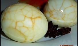 Čínská vejce s cibulovou omáčkou