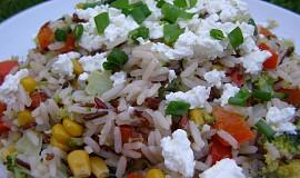 Divoká rýže se zeleninou