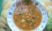 Frankfurtská polévka s bramborama