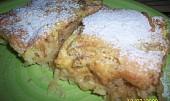 Jablečný koláč naruby