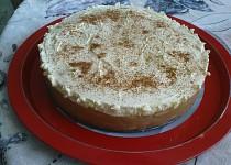 Jablečný nepečený dort