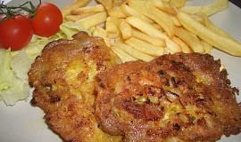 Kuřecí - těstíčkové placičky