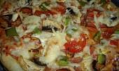 Pizza z listového těsta