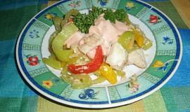 Salát z rybího filé