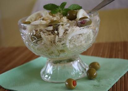 Salát ze syrového celeru