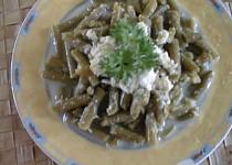 Salát ze zelených fazolek s křenem