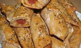 Uzenina v chlebovém těstě
