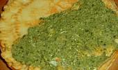 Zapečené palačinky se špenátem