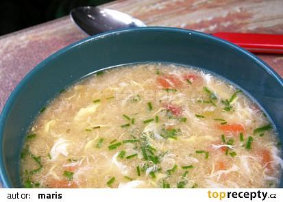 Zeleninová polievka s krupicou 2