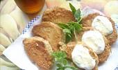 Ananas smažený v pivním těstíčku