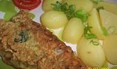 Filety ve špenátovo-česnekovém těstíčku