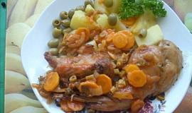 Králík na olivách