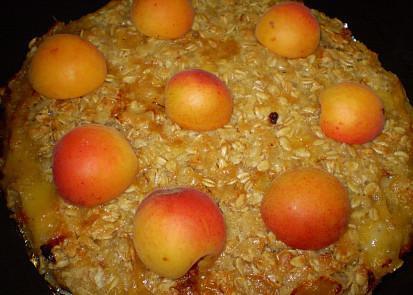 Křupavý meruňkový koláč- (Crumble)