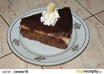 Kubánský banánový dort