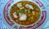 Květáková polévka s bramborami