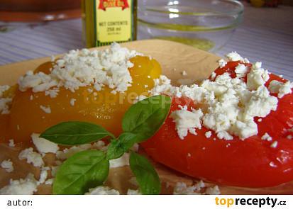 bez slupky, posypané balk. sýrem