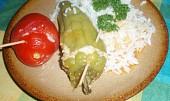 Plněné papriky a rajčata