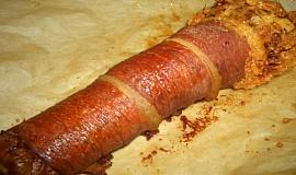 Pórek se slaninou
