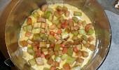 Rebarborový koláč s mákem