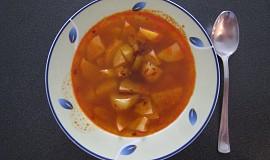 Rychlá bramborová polévka